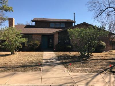 Midland TX Single Family Home For Sale: $190,000
