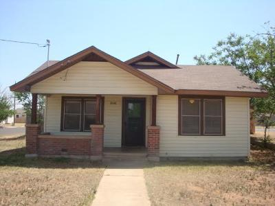 Midland TX Single Family Home For Sale: $139,950