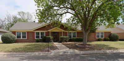 Midland Single Family Home For Sale: 3304 Whitney Dr