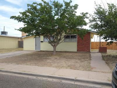 Odessa TX Single Family Home For Sale: $114,900