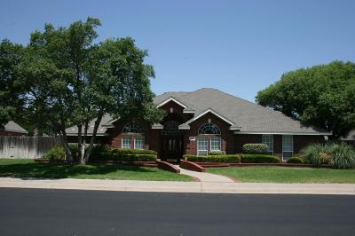 Midland Single Family Home For Sale: 5712 Hillcrest Place