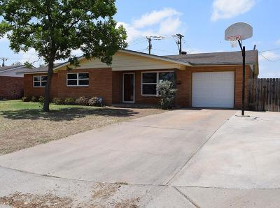 Midland Single Family Home For Sale: 709 Alpine St