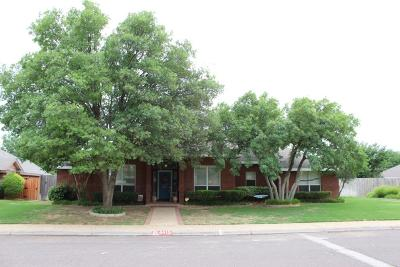 Midland Single Family Home For Sale: 4415 Cherrywood Dr