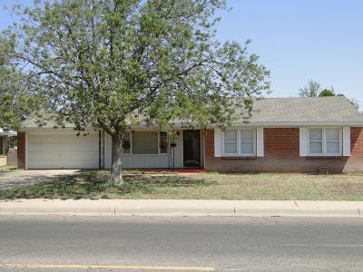 Midland TX Single Family Home For Sale: $186,500