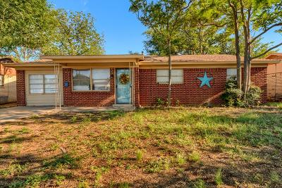 Midland Single Family Home For Sale: 4502 Versailles Dr