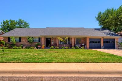 Midland Single Family Home For Sale: 2605 W Shandon Ave