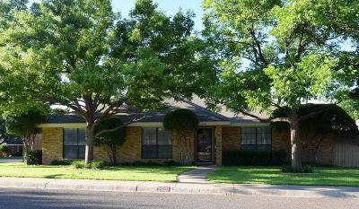Midland Single Family Home For Sale: 2501 Tamarind