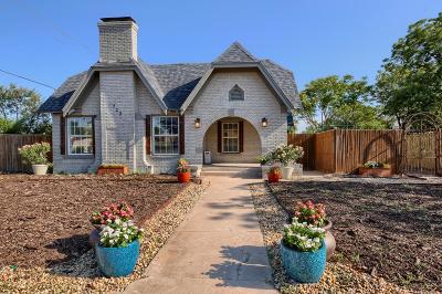 Midland Single Family Home For Sale: 722 W Kansas