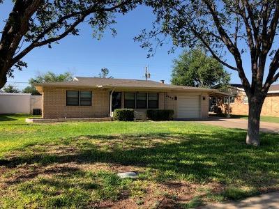 Midland Single Family Home For Sale: 3513 Baumann Ave