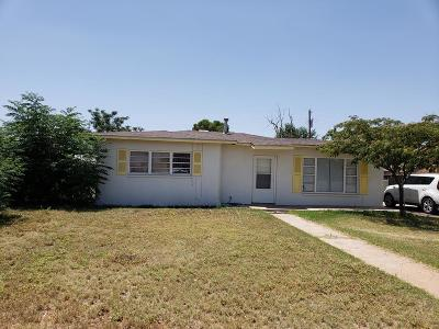 Midland TX Single Family Home For Sale: $90,000