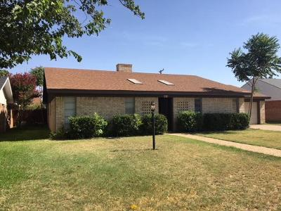 Midland Single Family Home For Sale: 3613 W Louisiana Ave