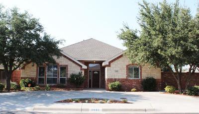 Midland Single Family Home For Sale: 3402 Feldspar Lane