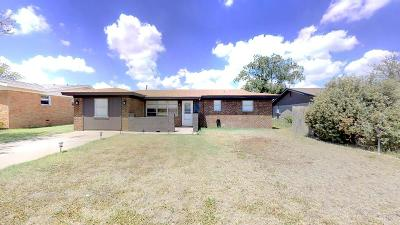 Midland Single Family Home For Sale: 4608 Erie Dr