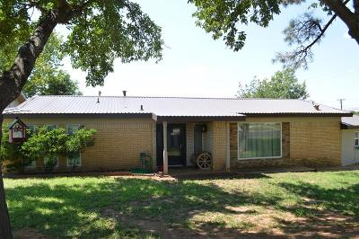 Seminole TX Single Family Home For Sale: $229,950