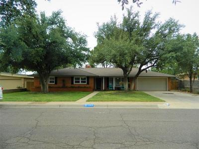 Midland Single Family Home For Sale: 2905 Douglas Ave