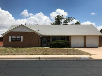 Midland TX Single Family Home For Sale: $199,900