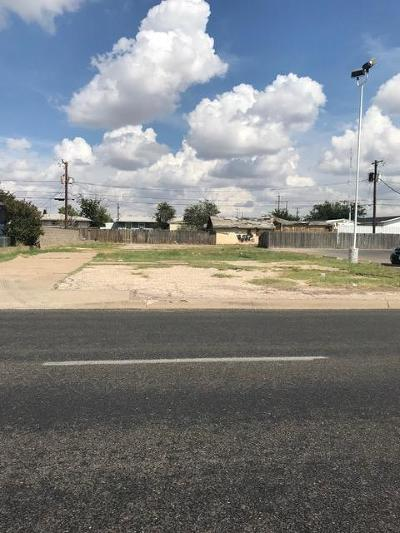 Odessa TX Residential Lots & Land For Sale: $39,000