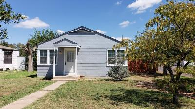 Odessa TX Single Family Home For Sale: $144,900