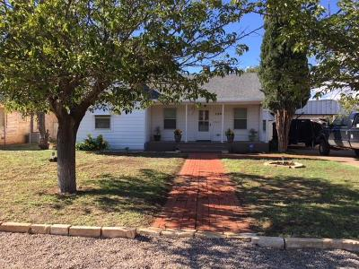 Midland TX Single Family Home For Sale: $199,000