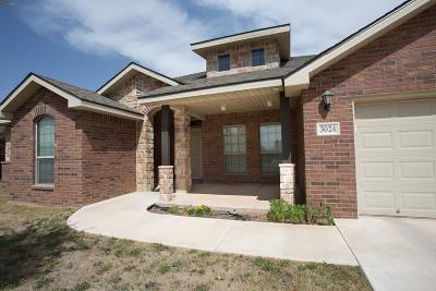 Odessa Single Family Home For Sale: 3024 San Pedro Dr