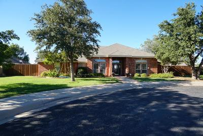 Midland Single Family Home For Sale: 5702 Cranston Place