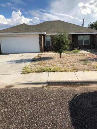 Odessa TX Single Family Home For Sale: $210,000