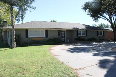Midland Single Family Home For Sale: 1610 N K St