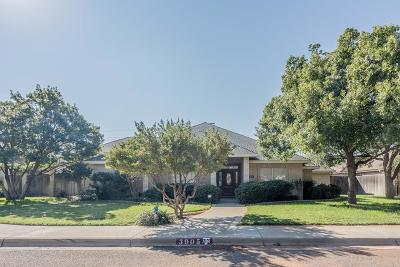 Midland Single Family Home For Sale: 3905 Edgebrook Court