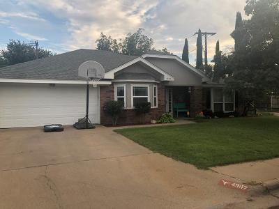 Midland Single Family Home For Sale: 4907 Sunshine Parkway