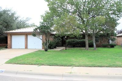 Midland Single Family Home For Sale: 4606 Anetta Dr