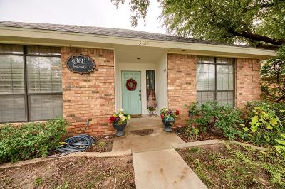 Midland Single Family Home For Sale: 3611 Bermuda Court