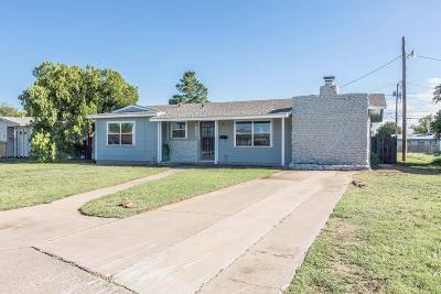 Midland Single Family Home For Sale: 4109 Pleasant Dr