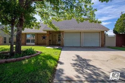 Midland Single Family Home For Sale: 4609 Crenshaw Dr