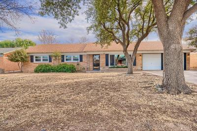 Midland Single Family Home For Sale: 813 W Golf Course Rd