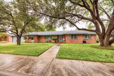 Midland Single Family Home For Sale: 1204 Bedford Dr