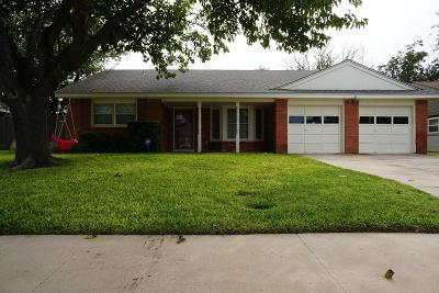 Midland TX Single Family Home For Sale: $279,000