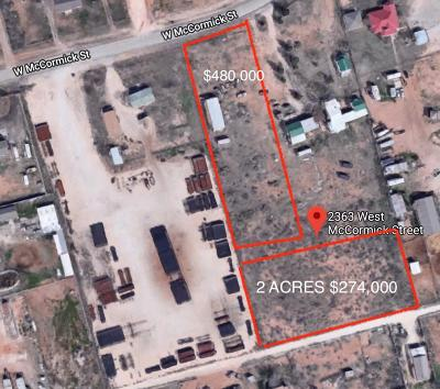 Odessa TX Residential Lots & Land For Sale: $754,000
