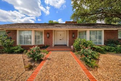 Midland Single Family Home For Sale: 1605 Country Club Dr