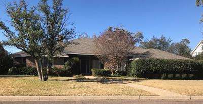 Midland Single Family Home For Sale: 1705 Huntington St