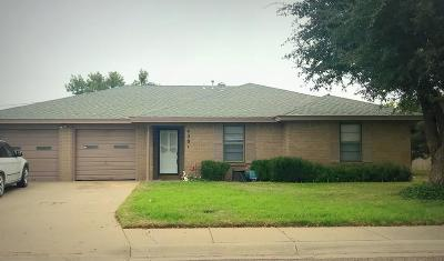 Midland Single Family Home For Sale: 4501 Fairbanks Dr