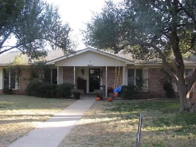 Midland Single Family Home For Sale: 2803 Metz Dr