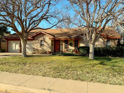 Midland Single Family Home For Sale: 3306 Providence Dr