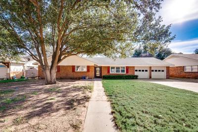 Midland Single Family Home For Sale: 2509 Stanolind Ave