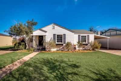 Midland Single Family Home For Sale: 214 Ridglea Dr