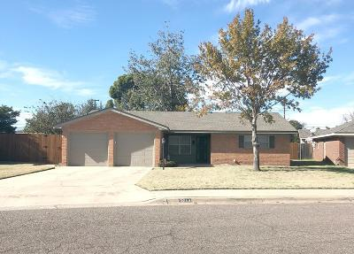 Midland Single Family Home For Sale: 3214 Frontier Dr