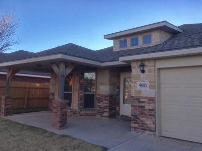 Odessa Single Family Home For Sale: 9503 E 96th Court