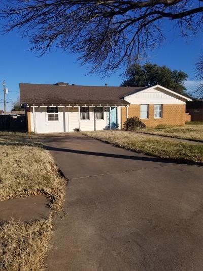 Midland Single Family Home For Sale: 3216 Baumann Ave