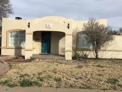 Midland Single Family Home For Sale: 810 W Kansas
