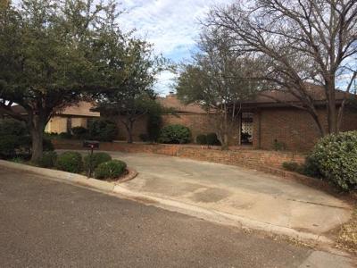 Midland Single Family Home For Sale: 2302 Auburn Place