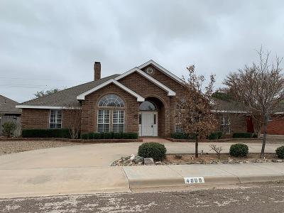 Midland Single Family Home For Sale: 4009 Edgebrook Dr